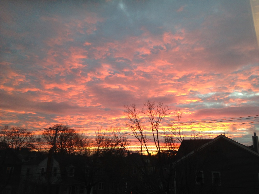 School One Sunset