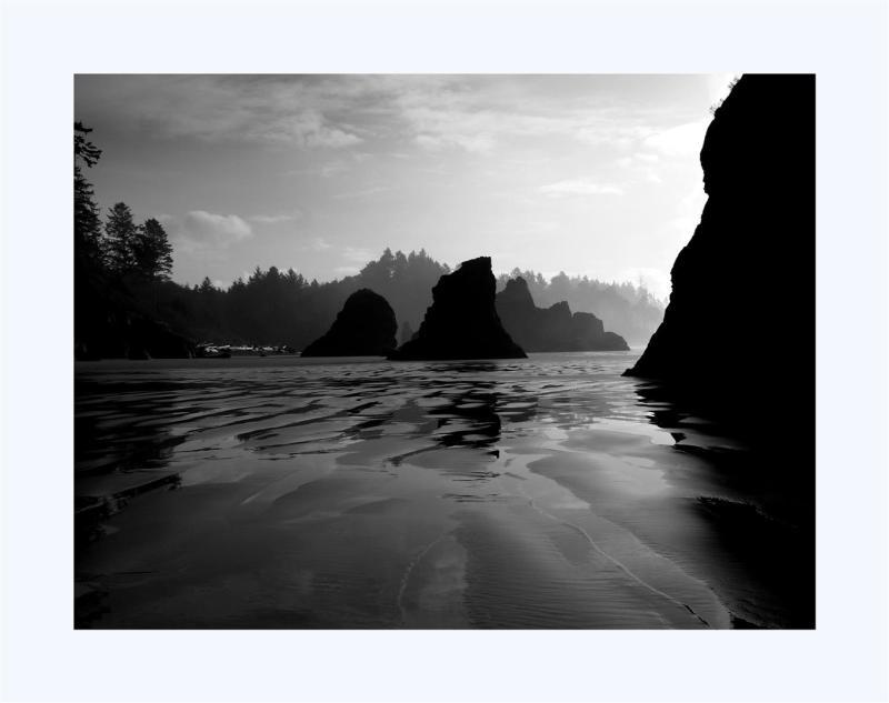 Alone on Ruby Beach