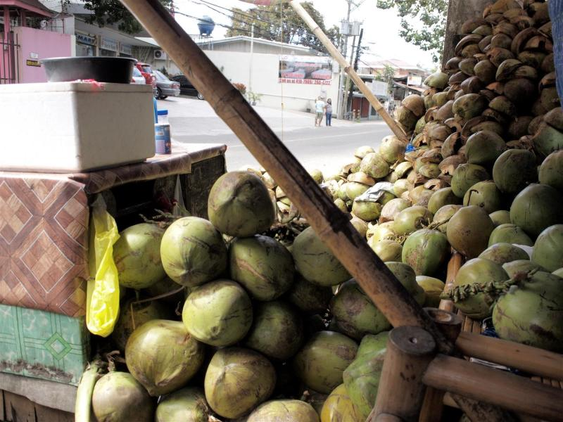 Road side coconut drinks