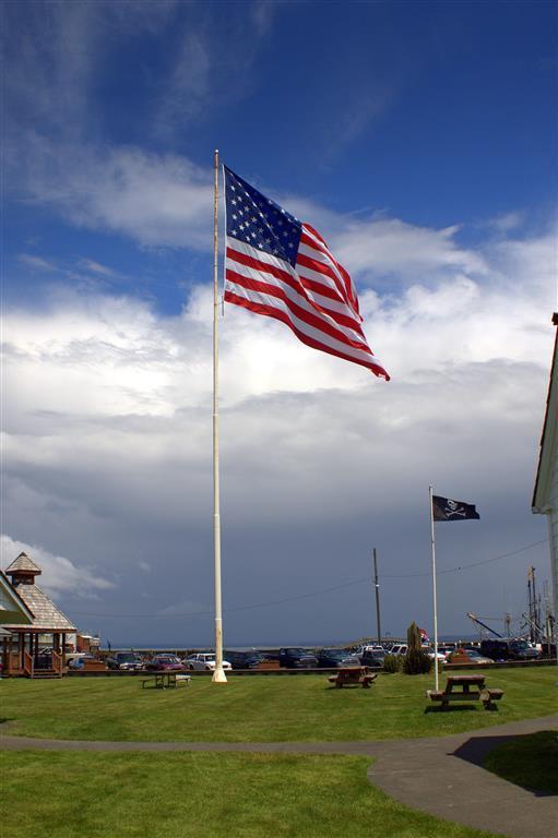 Huge Patriotic Flag