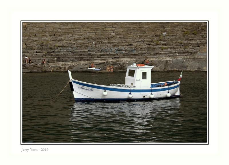 A lovely wood plank boat