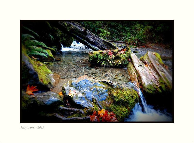 Pristine creek - enhanced