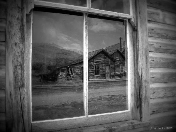 Ghost town - Bannack, Montana
