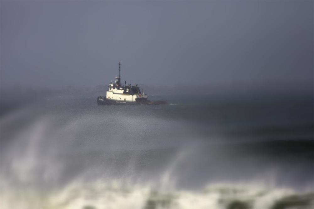 High wind - Rough seas