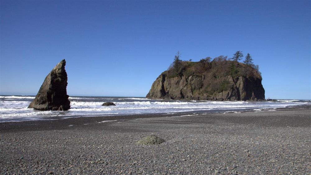 Ruby Beach on March 14