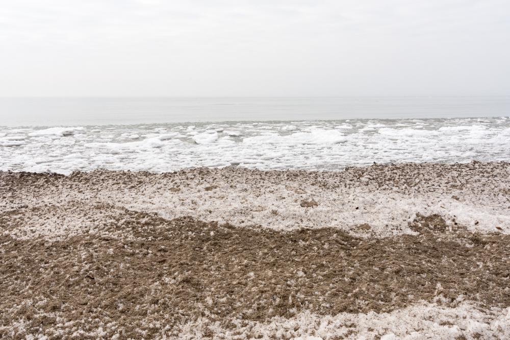 Spring ice : Big Sandy Bay 1