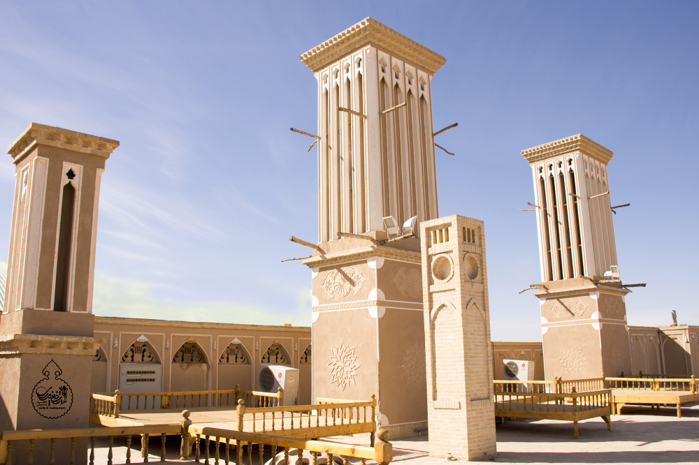 architecture of Yazd