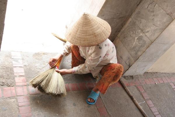 Uno scatto imperdibile camminando per Hanoi