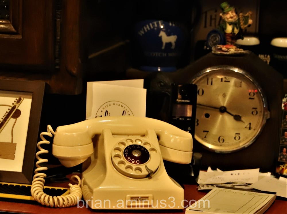 Phone from a past time