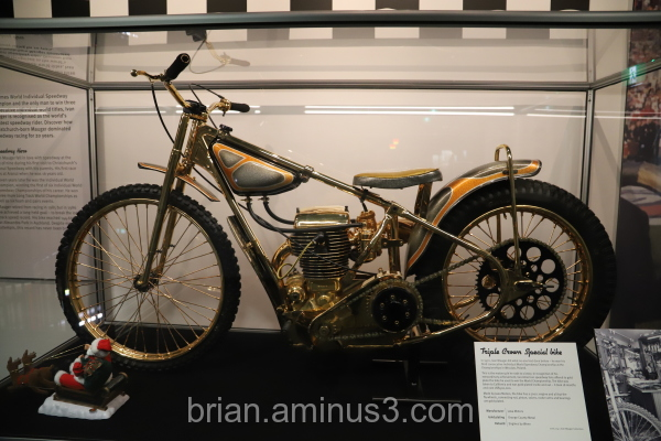 Golden Race Bike