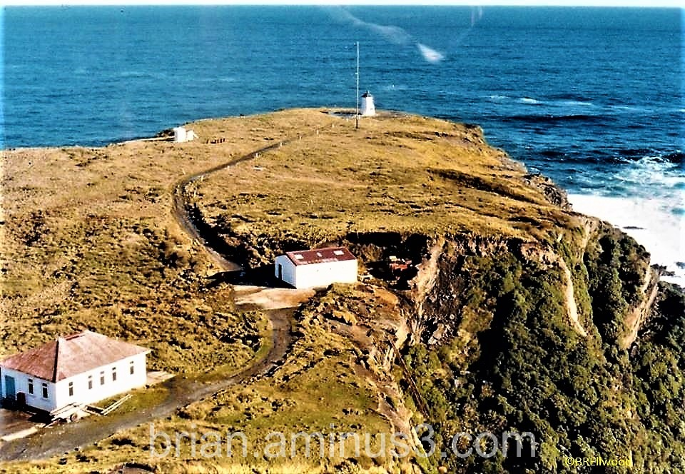 Pusegur Point  from the air