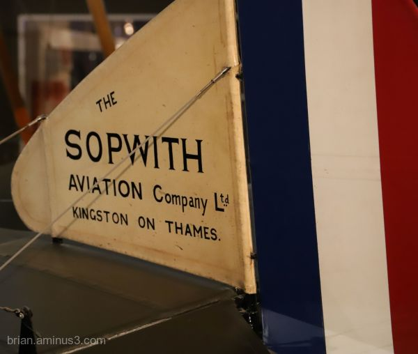 The  Tail Of The Sopwith Camel