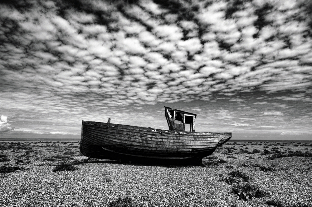 Mackerel Sky At Dungeness