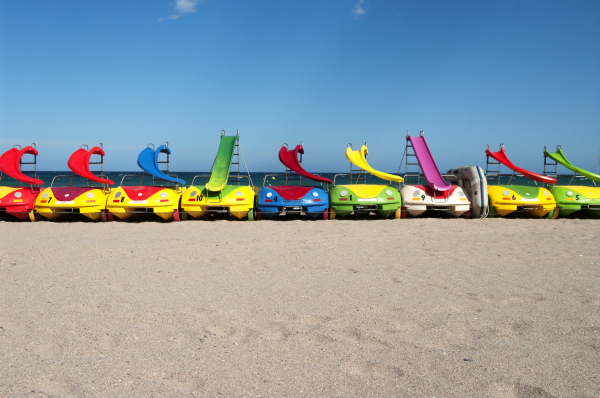 The Car Park At Toytown Beach