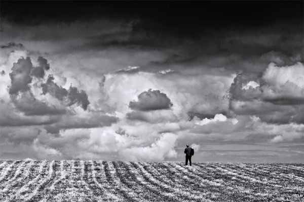 Man At The Edge Of His World