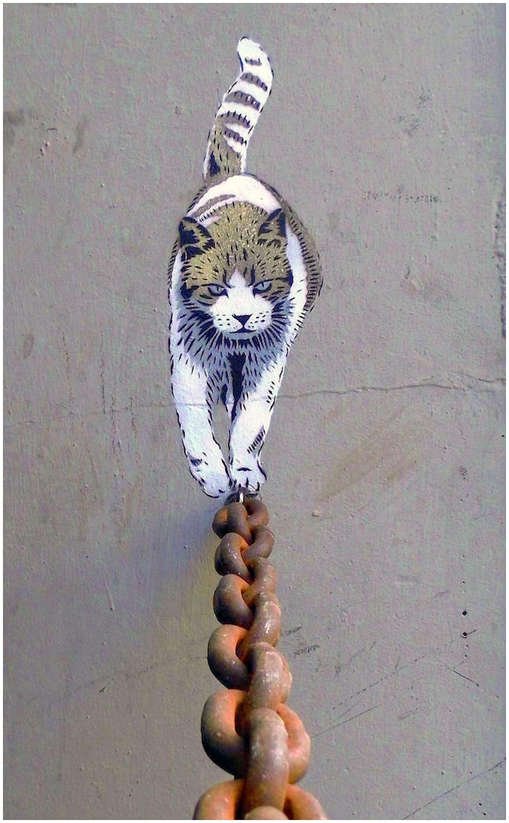 Art de Rue  Le chat