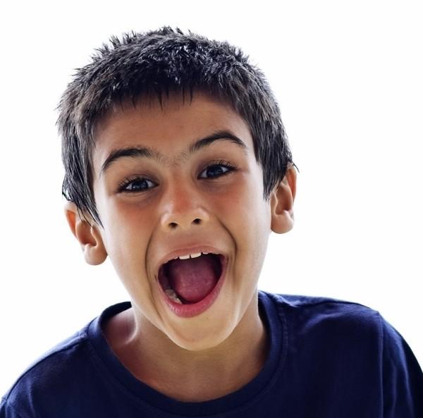 پرتره کودک لبخند portrait child