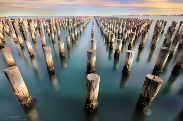 Princes Pier Port Melbourne Australia LongExposure