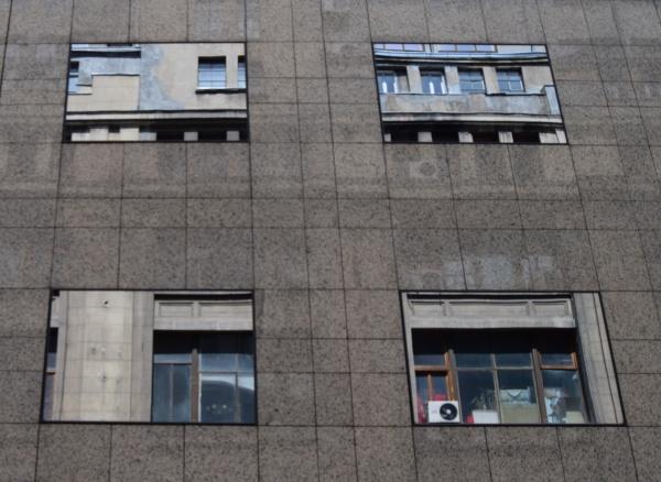 City mirrors