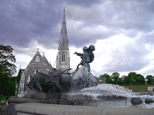 The Gefion Fountain