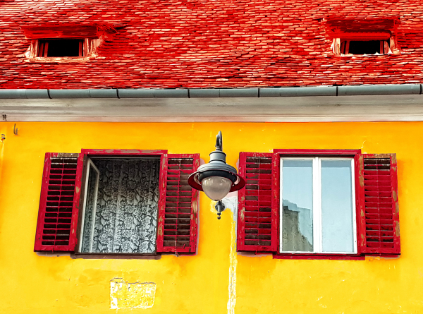 Warm Colored House