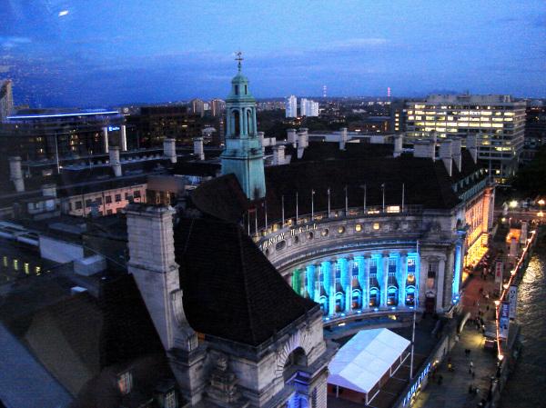 Twilight Over The City
