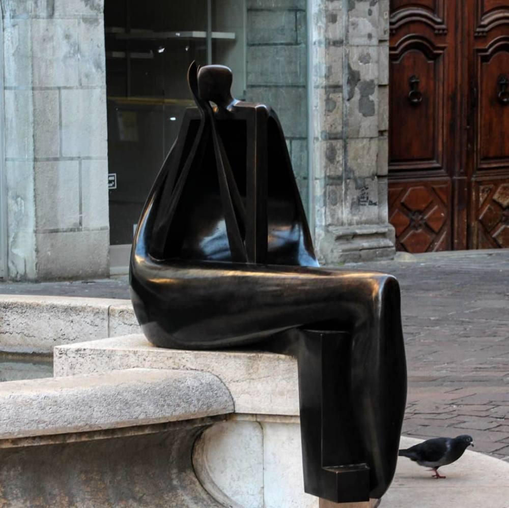Une sculpture