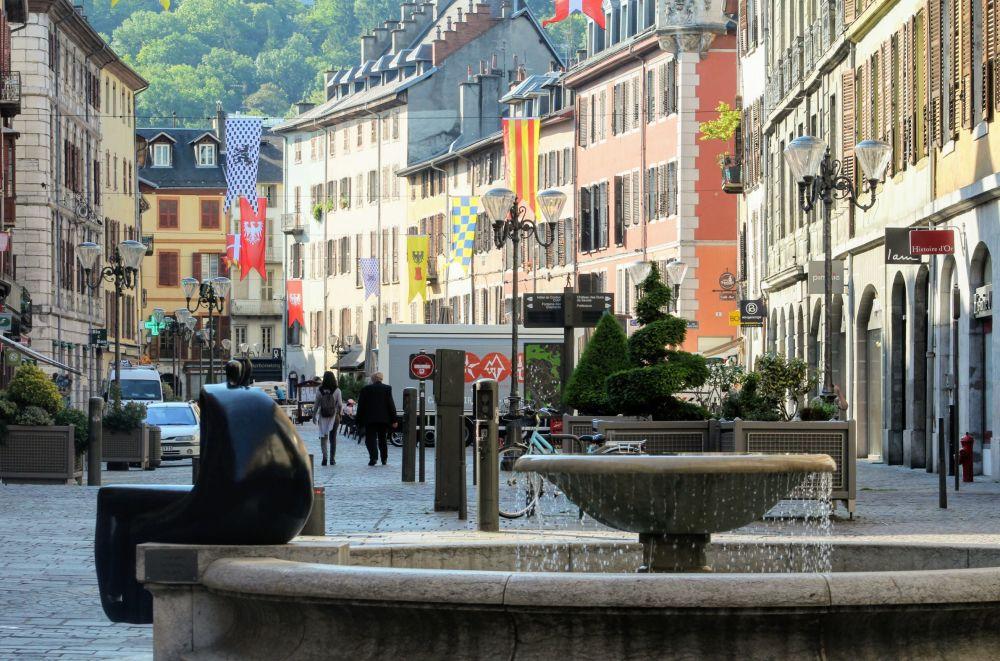 Chambéry, sous le soleil...