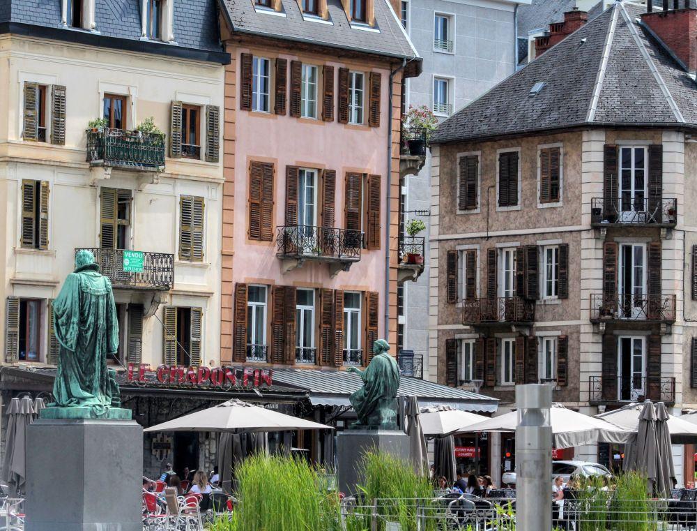 Chambery, une des villes des Alpes Françaises