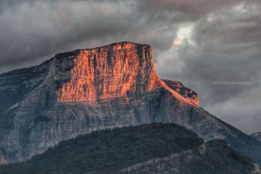 Le Granier, en Savoie