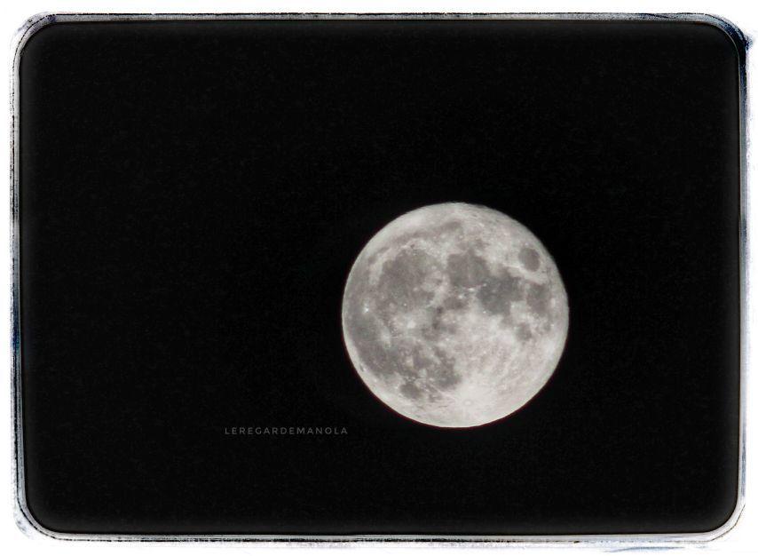 La lune de la nuit derniere