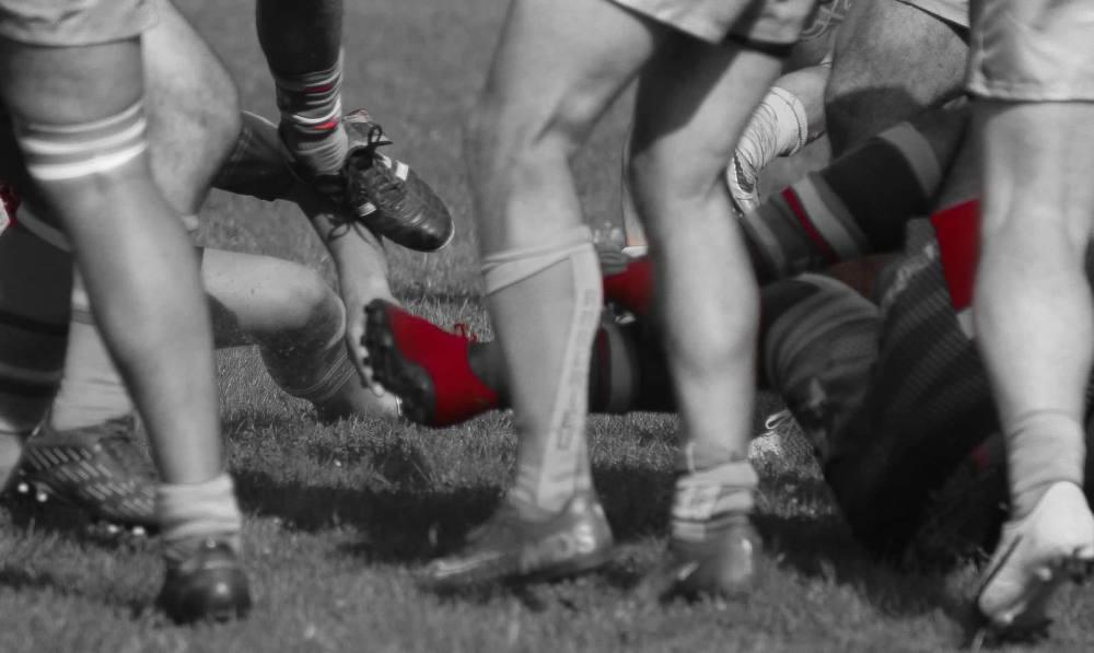 Rugbymans  heureux