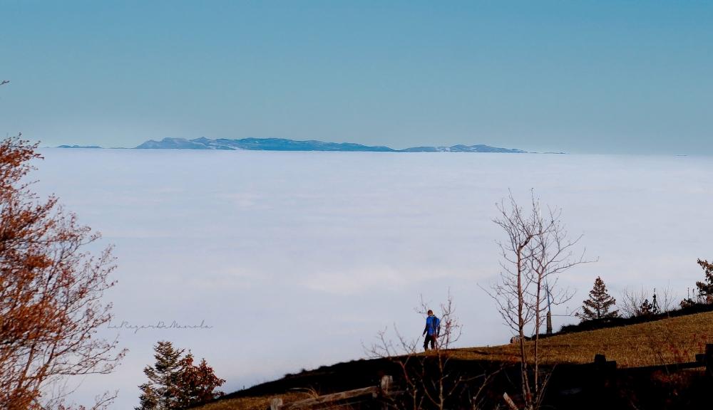 une mer de nuage...