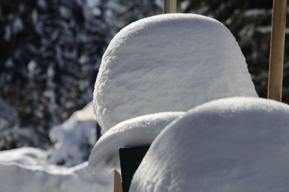 De la neige : vous en voulez ?  En voilà....
