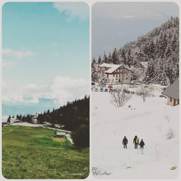 Été /hiver...même lieux