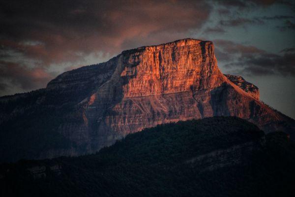 Le Granier...notre belle falaise