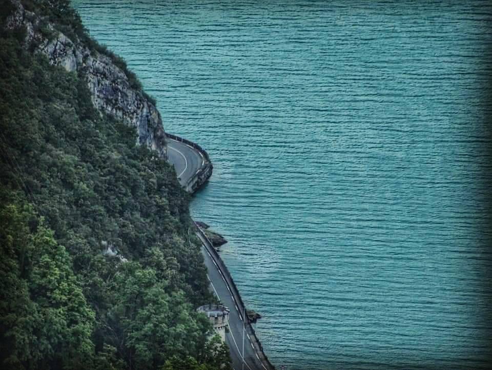 Le Lac du Bourget, en Savoie