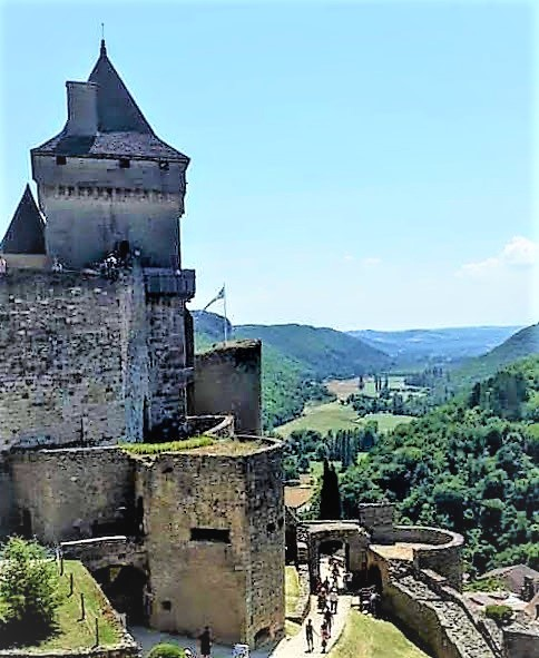 France, Dordogne, Chateau de Castlenaud