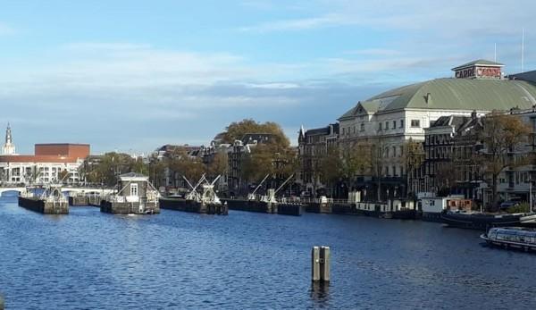 Amsterdam, The Netherlands, Amstelsluizen