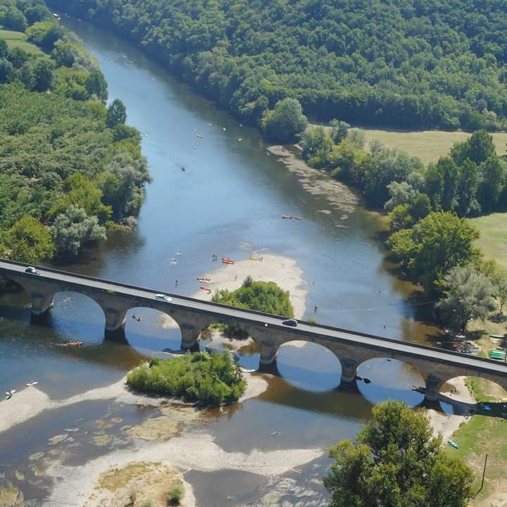 Dordogne, France, River