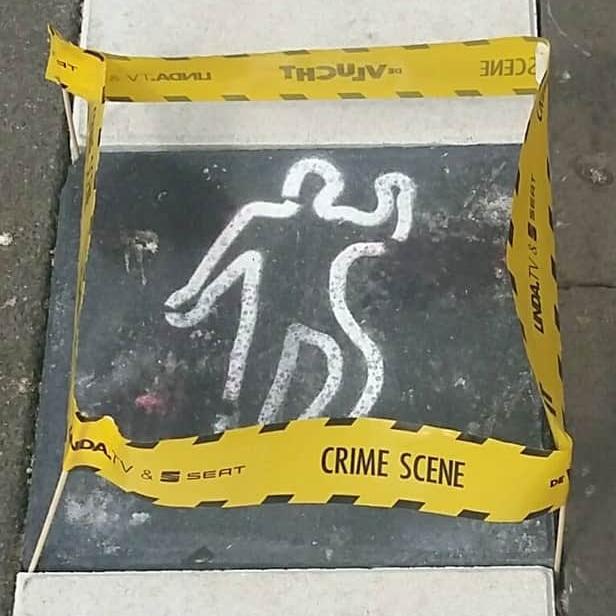Mini crime scene