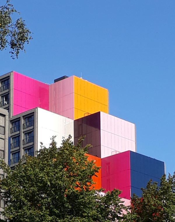 Colored architecture