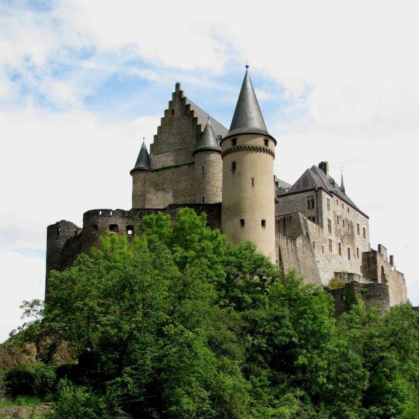 Castle Vianden Luxembourg