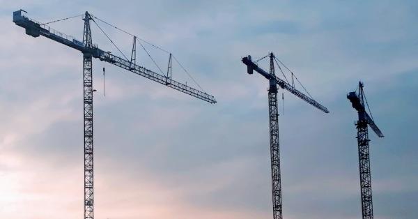 Cranes  - 3 in a row