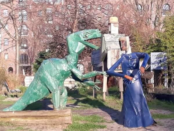 Art near Artis Zoo