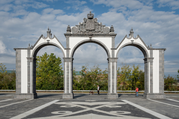 The Fall River Gates of the City