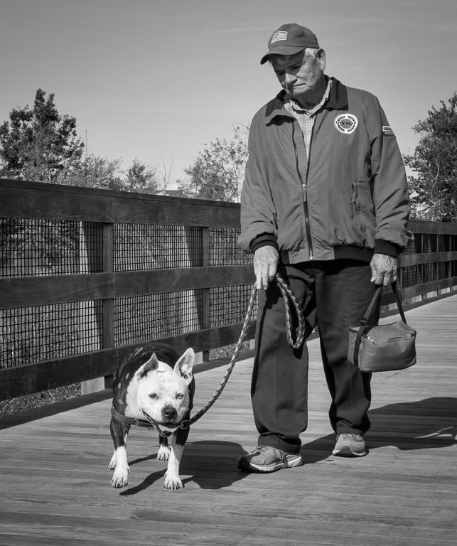 Man & Dog Walkies!