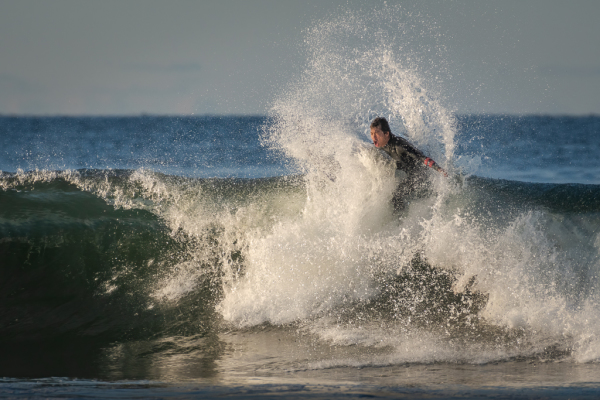 Surfer Swallowed By A Wave