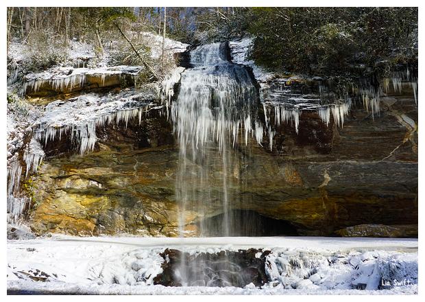 Frosty flow