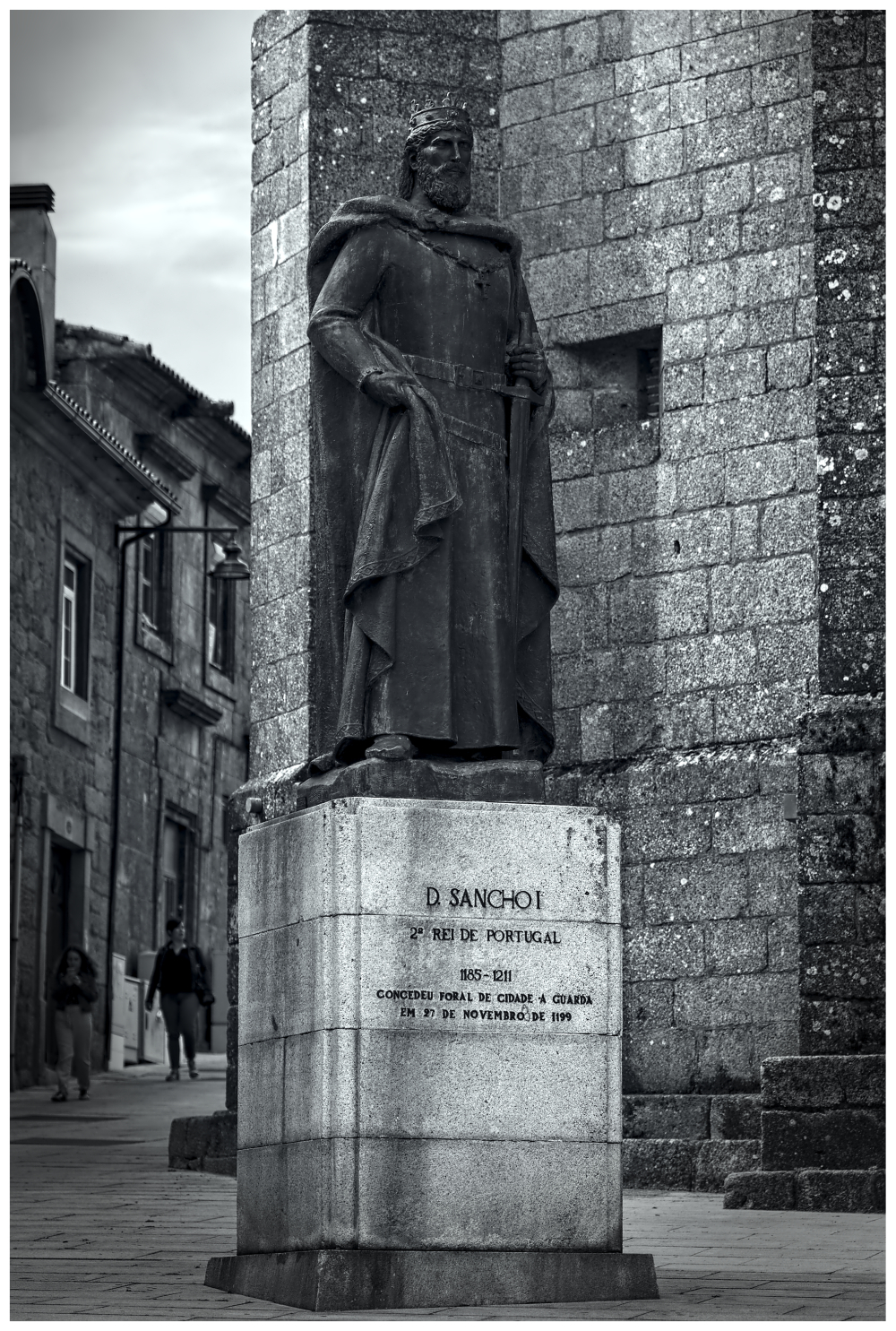 D.Sancho I Rei História Street Photography Guarda